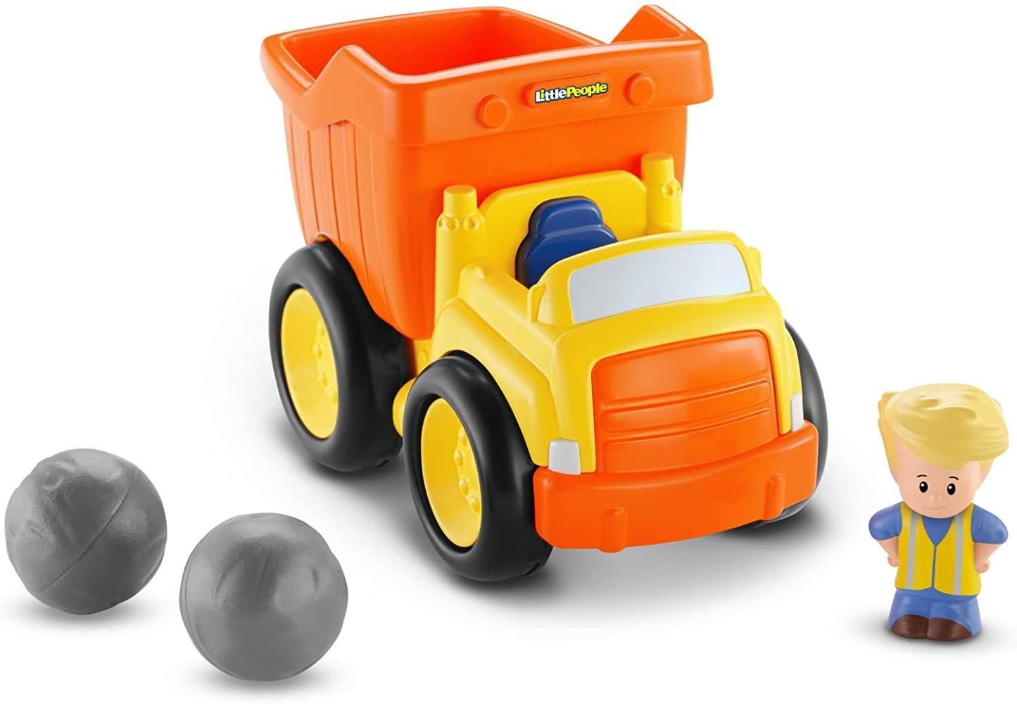 Fisher Price - Little People Deluxe Vehicles - Dump Truck (Bdy81) Bild 1