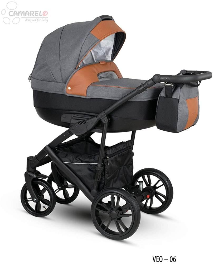 Camarelo Veo - Kombikinderwagen Farbe Veo-6 grau/schwarz Bild 1
