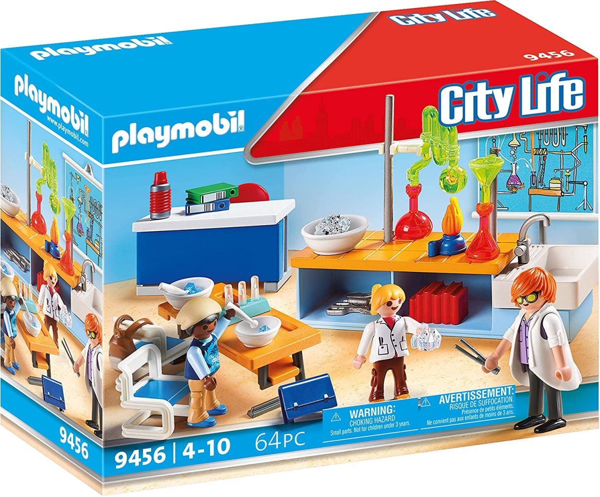PLAYMOBIL City Life 9456 Chemieunterricht, Ab 5 Jahren Bild 1