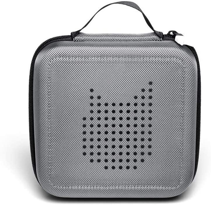 Tonies 'Tonie-Transporter' Transporttasche Anthrazit/Grau, Box zur Aufbewahrung von bis zu 20 Tonies Hörfiguren, leicht, abwaschbar, Reißverschluss, 17,5 x 17,5 cm Bild 1