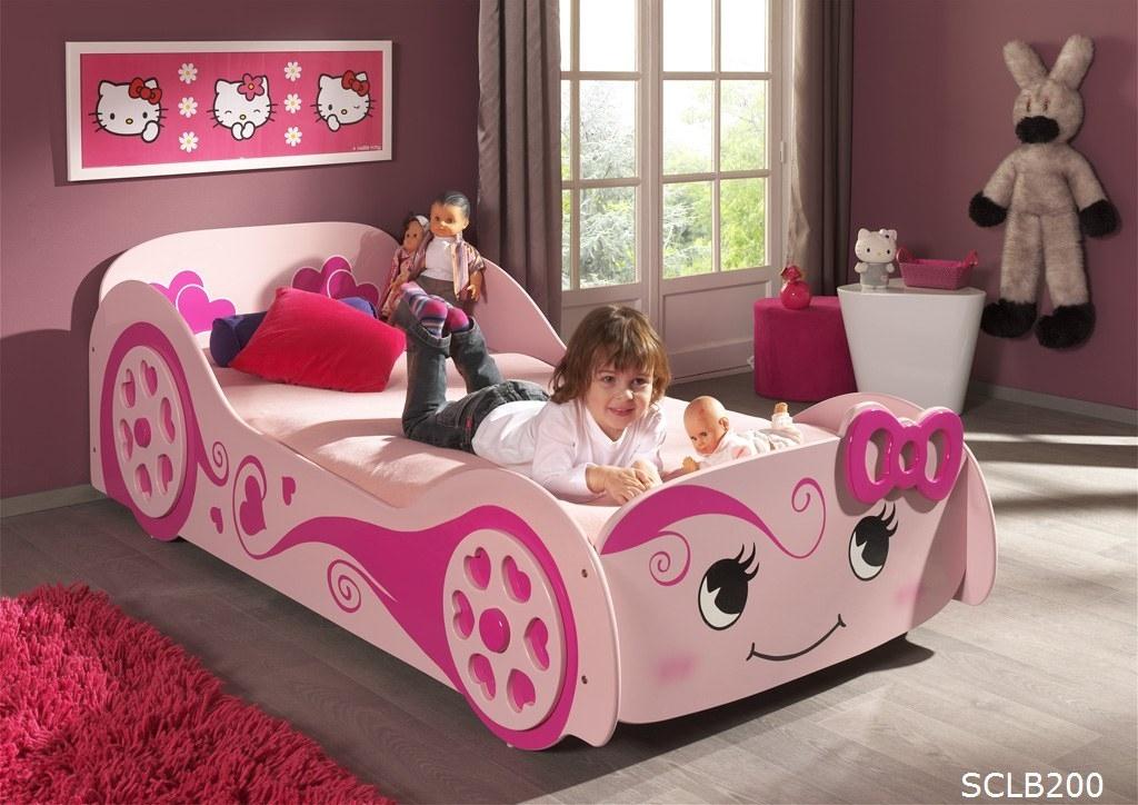 Vipack 'Pretty Girl' Autobett rosa Bild 1