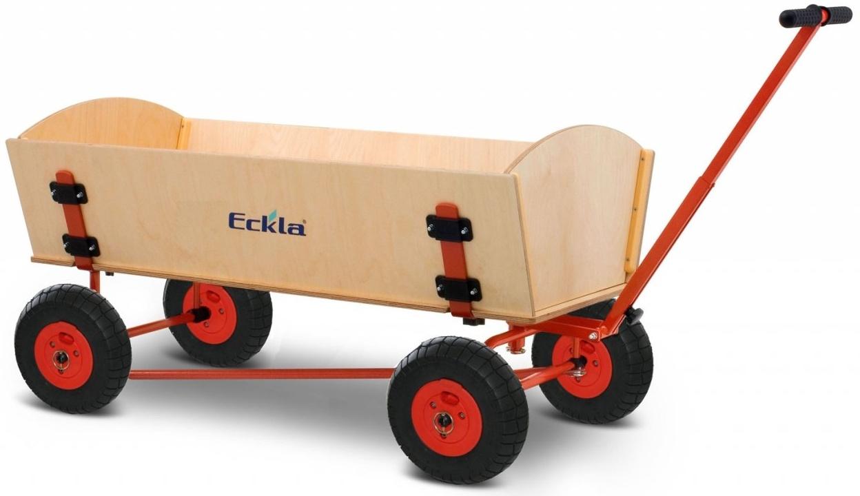 Eckla - Bollerwagen Ecklatrak XXL 120cm mit Hinterachslenkung Bild 1