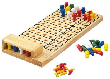 Happy People 61829 - Brain Twister Strategiespiel, Holzspielbrett Bild 1