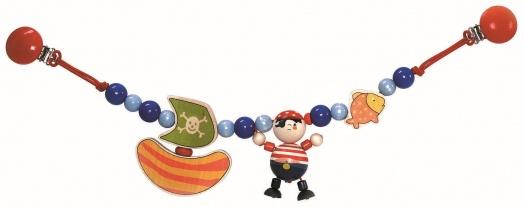 Hess-Spielzeug Wagenkette, Pirat Bild 1