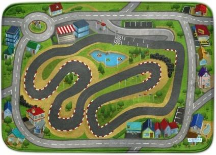 Ultrasoft Spielteppich - Speedway Racing City Bild 1