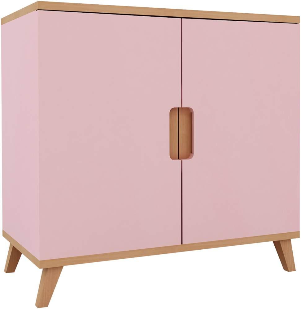 Mobi Furniture Kommode Buche rosa Bild 1