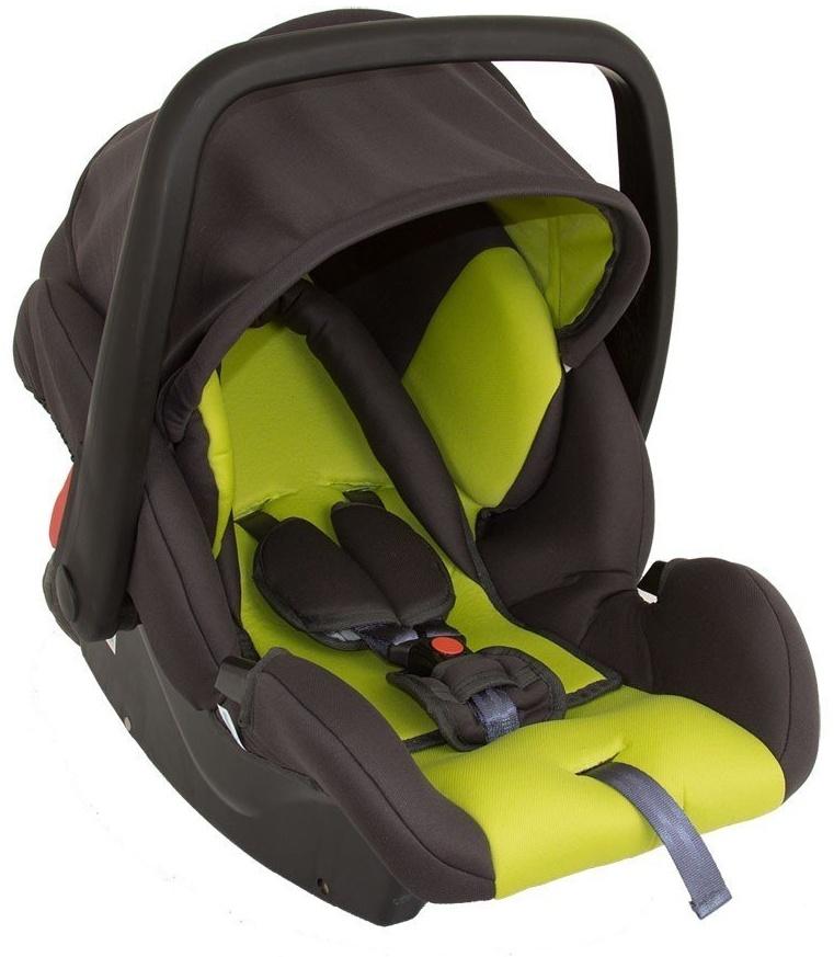 Babyschale Protect von UNITED-KIDS Gruppe 0+ 0-13 kg KN Grün-Grau Bild 1