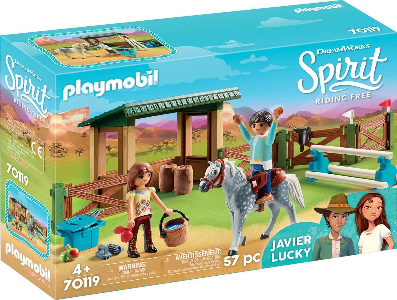 Playmobil Spirit Riding Free 70119 'Pferdekoppel', 57 Teile, ab 4 Jahren Bild 1