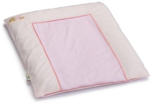 Easy Baby 'Sleeping Bear' Stoffwickelauflage 55/70 cm rosa Bild 1
