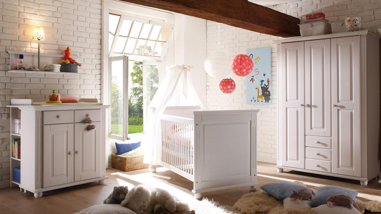 Bega '2 LAURA' 5-tlg. Babyzimmer-Set weiß Bild 1