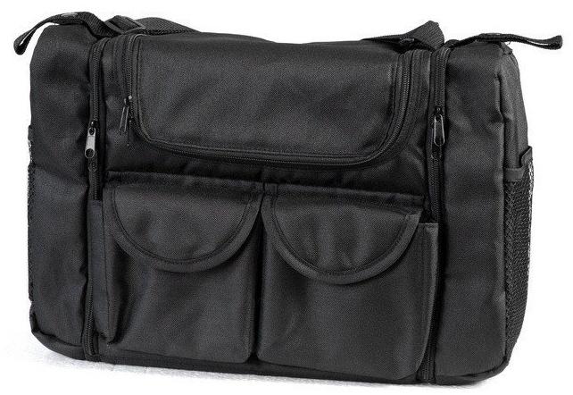 Wickeltasche 'Tasche mit Wickelauflage' 1801-08 rechteckig von UNITED-KIDS, Schwarz Bild 1