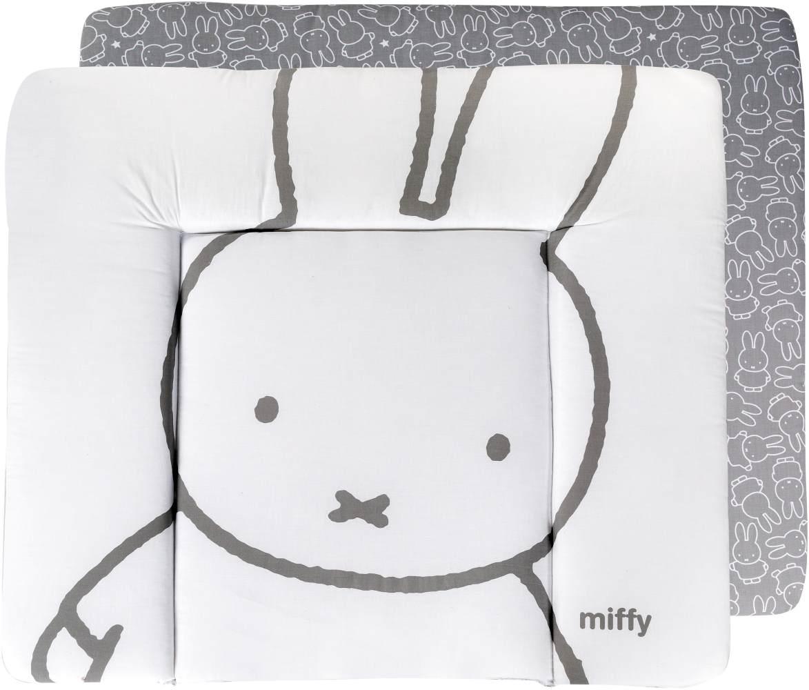 Roba 'Miffy' Wickelauflage soft, weiß 75x80 cm Bild 1