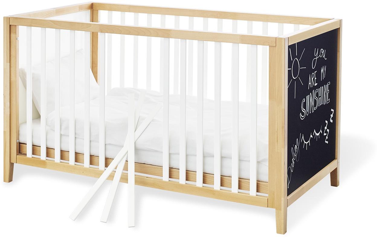 Pinolino 'Calimero' Kinderbett mit Tafellack 70x140 cm Bild 1