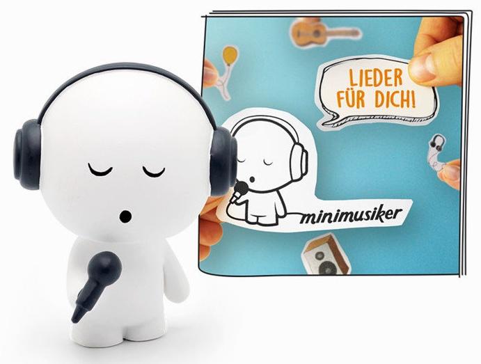Tonies Minimusiker 'Lieder für Dich', Hörfigur mit ca. 50 Minuten Spielzeit, ab 3 Jahren, deutsch Bild 1
