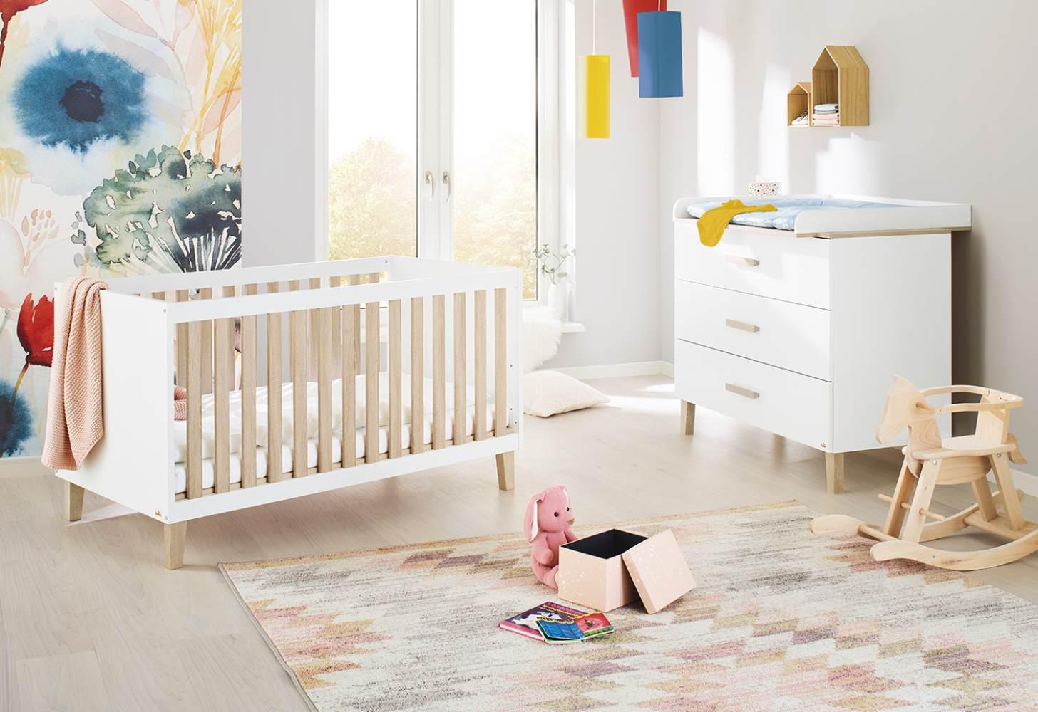 Pinolino 'Lumi' 2-tlg. Babyzimmer-Set, breit Bild 1