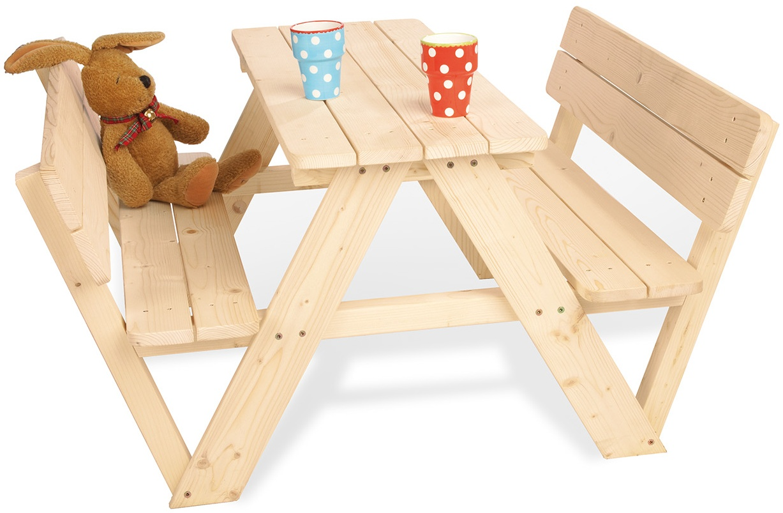 Pinolino Kindersitzgarnitur 'Nicki für 4 mit Lehne' Bild 1