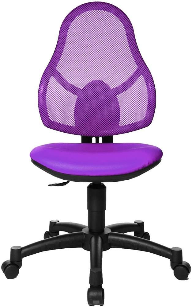 Topstar Open Art Junior, Bürostuhl, Schreibtischstuhl für Kinder und Jugendliche, Bezugsstoff, lila Bild 1