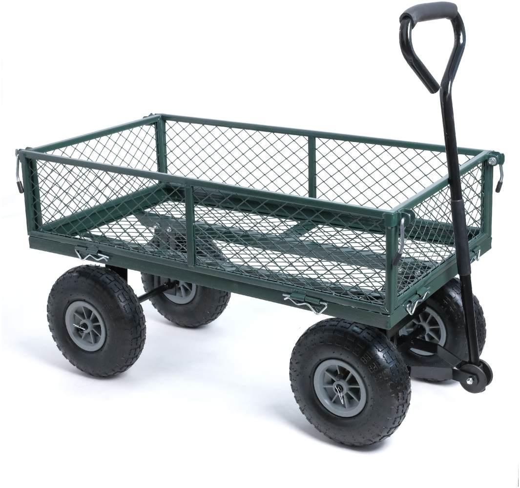 wuuhoo® Bollerwagen Elton mit abnehmbaren Seiten, belastbar bis 350kg Bild 1
