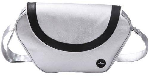 Mima - Trendy Wickeltasche (silber) Bild 1