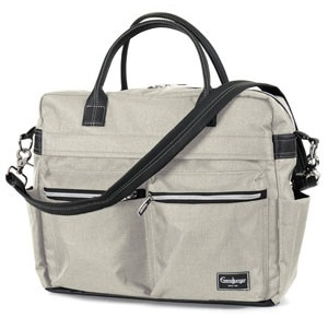 Emmaljunga Wickeltasche Travel Lounge Beige Kollektion 2021 Bild 1