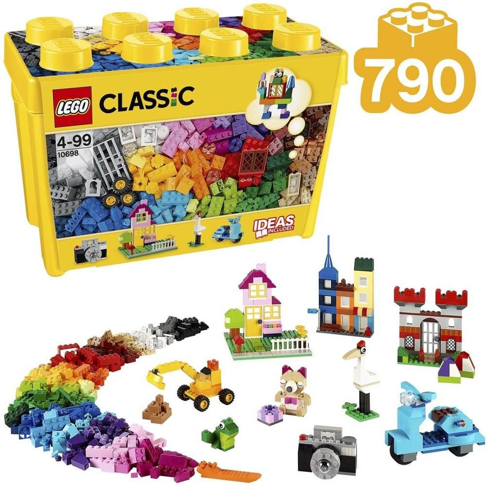 LEGO 10698 Classic Große kreative Bausteine-Box, Spielzeugaufbewahrung Bild 1