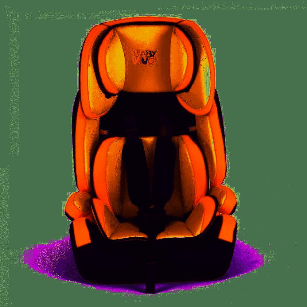 Baby Vivo Kindersitz / Autositz TOM von 9-36 kg für Gruppe 1+2+3 in Orange/Creme Bild 1