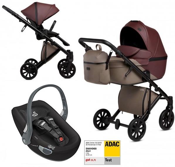 Anex 'e/type' Kombikinderwagen 4plusin1 2020 in Verus mit Swandoo Babyschale Bild 1
