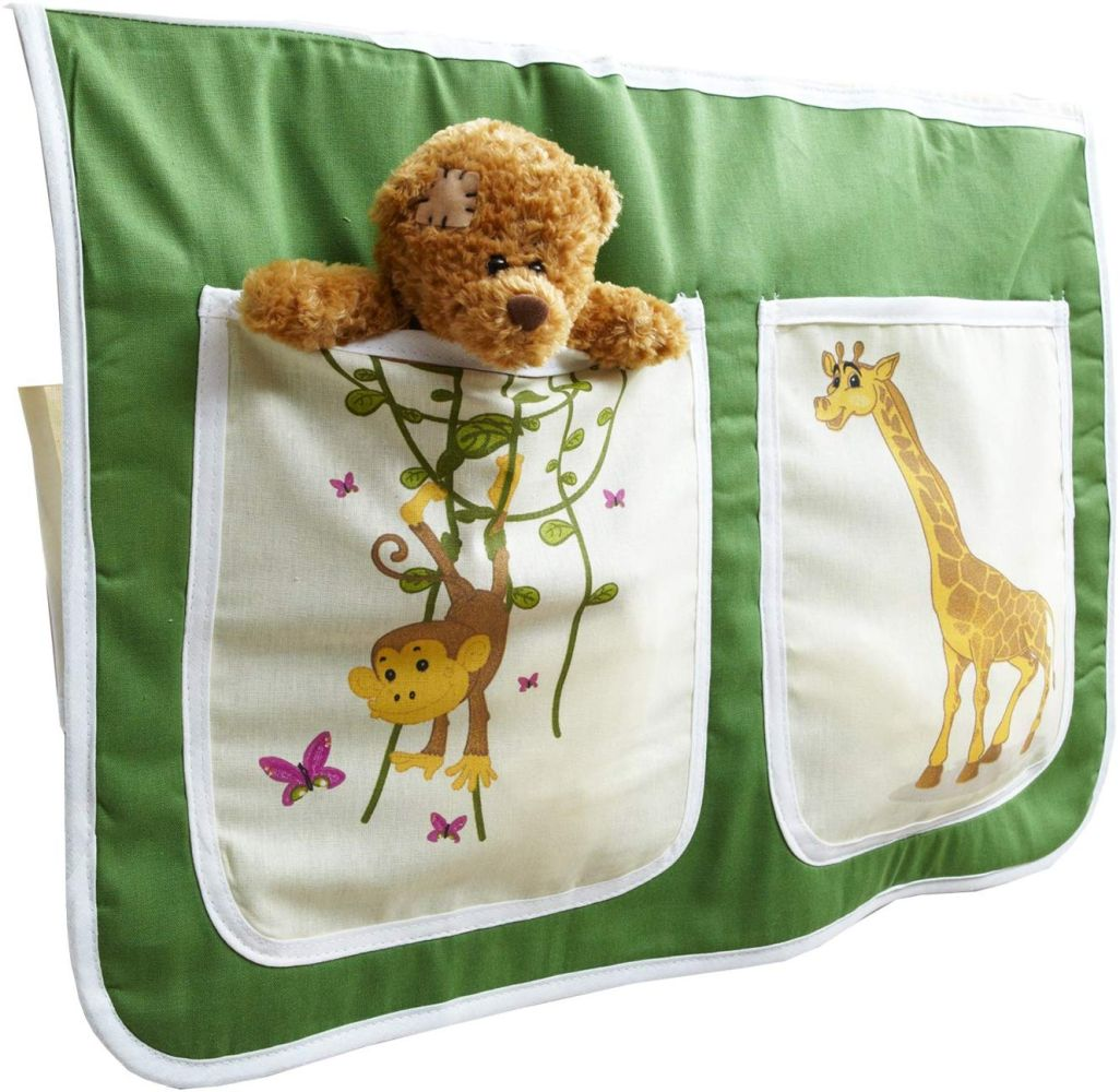 Ticaa 'safari' Bett-Tasche für Hoch- und Etagenbetten grün Bild 1