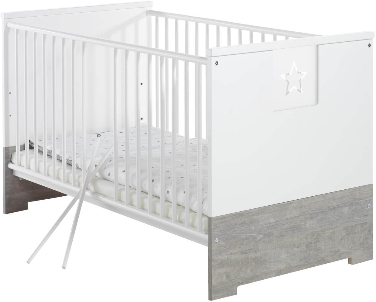 Schardt 'Eco Star' Kombi-Kinderbett weiß Bild 1
