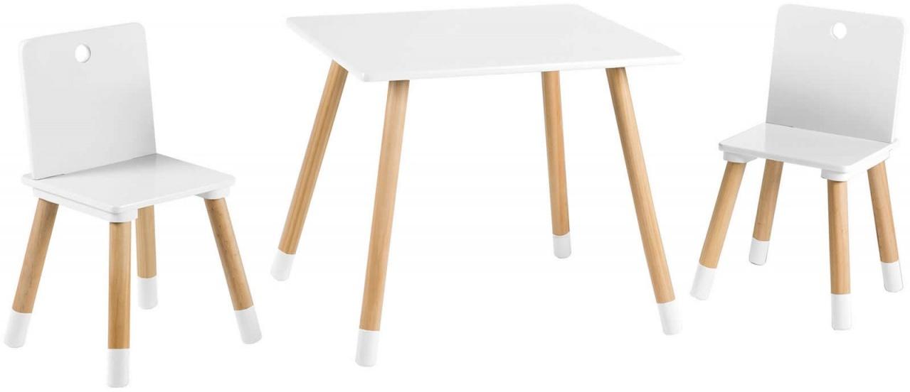 Roba Kindersitzgruppe weiß/natur Bild 1