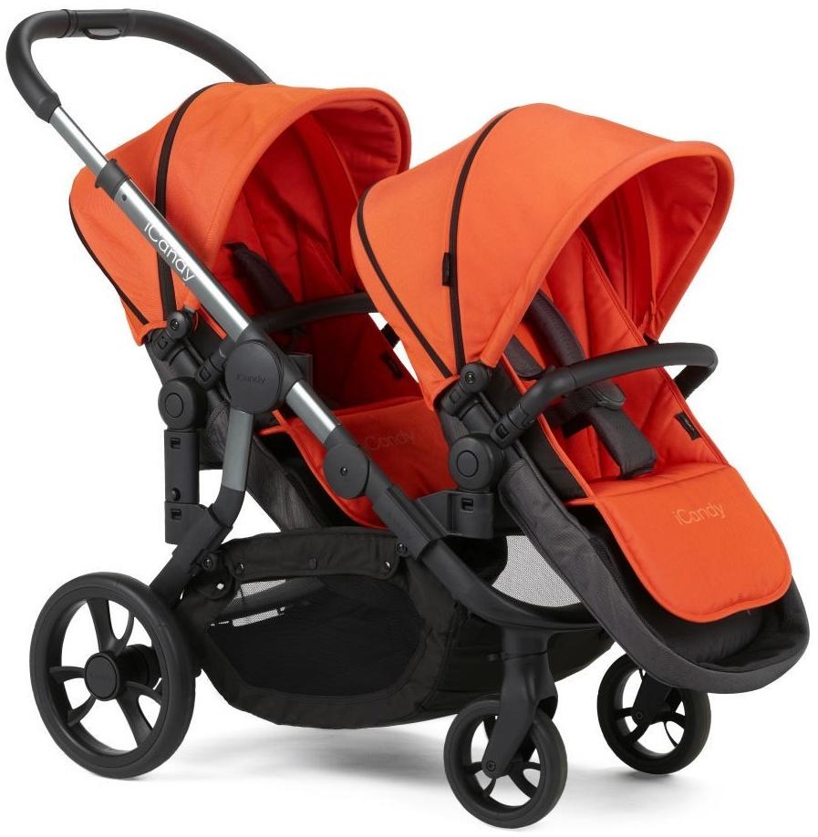 iCandy 'Orange Blossom' Geschwisterwagen Flame Bild 1