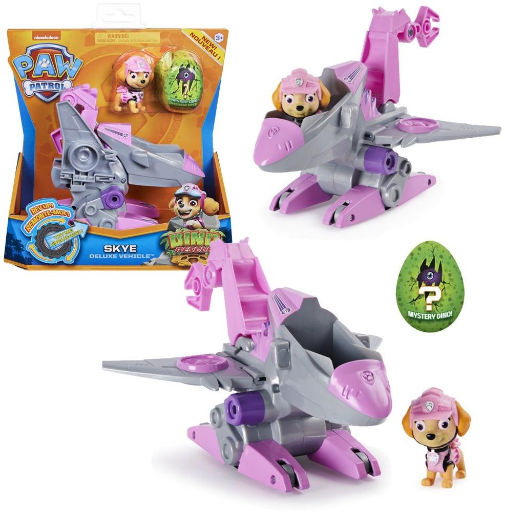 PAW PATROL Dino Rescue Einsatzfahrzeuge | Rev-Up, Dino und Spielfiguren, Figur:Skye Bild 1