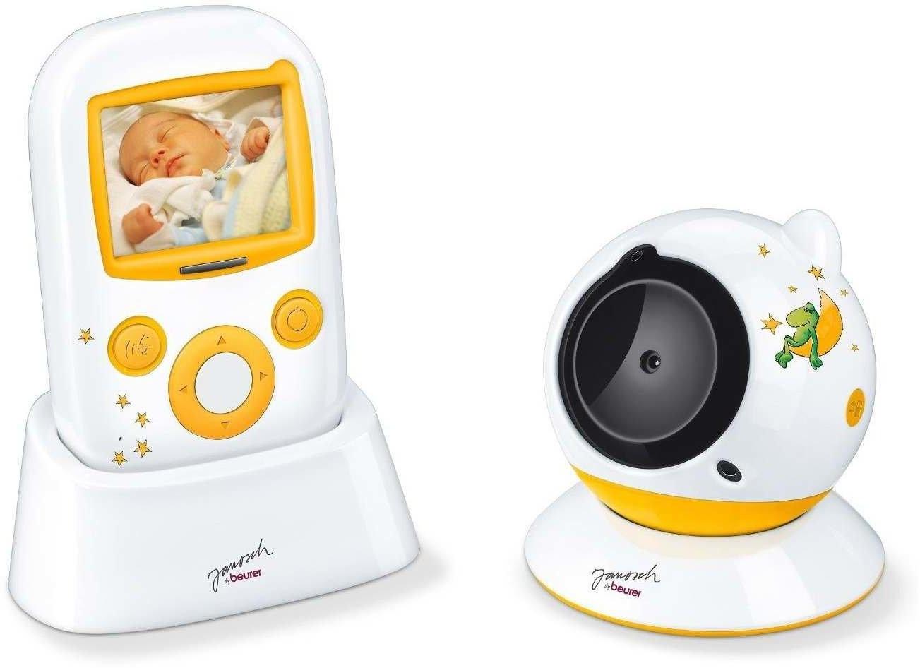 Beurer JBY 103 Video Babyphone Janosch, weiß-gelb Bild 1