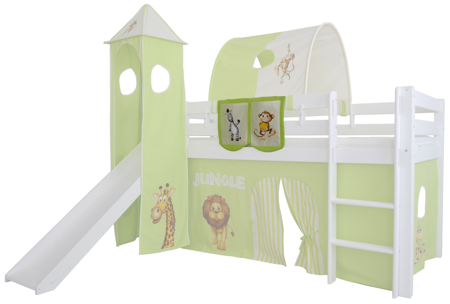 Mobi Furniture 'Dschungel' Betttasche für Hochbett Bild 1