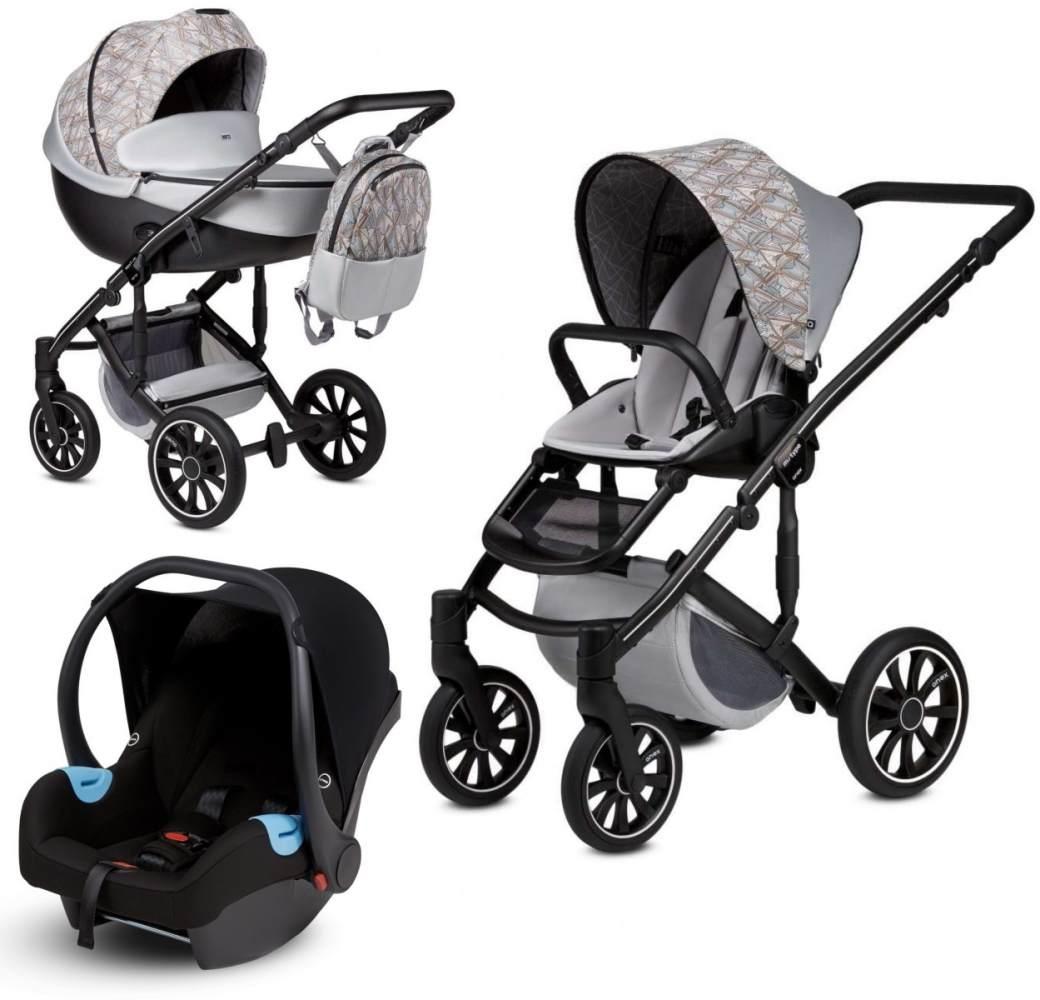 Anex 'm/type' Kombikinderwagen 4plusin1 Vogue Edition 2020, inkl. Babywanne, Sportsitz, Babyschale Bild 1