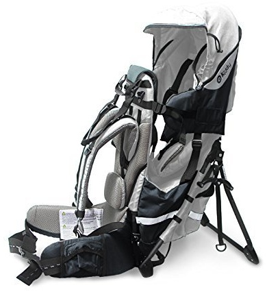 kiddy - Adventure Pack Rückentrage Silver Grey Bild 1
