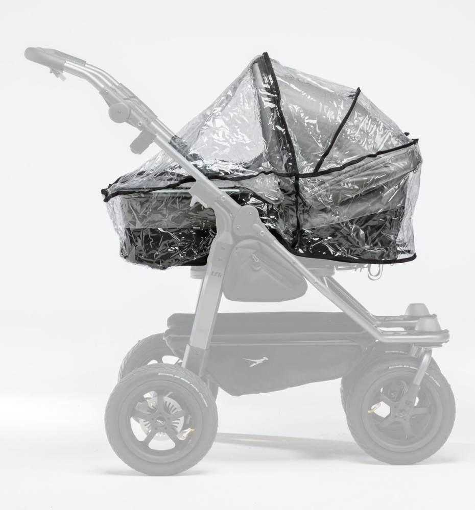 TFK Regenschutz für Duo Kombi Kinderwagen (2 Wannen) Bild 1