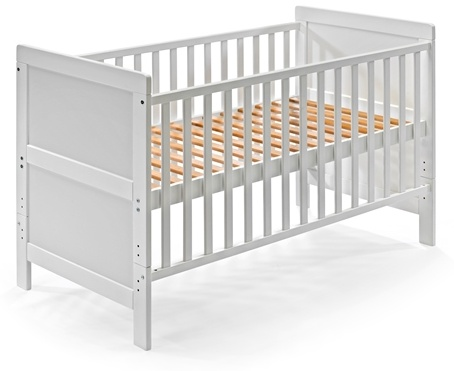 KOKO Kombi-Kinderbett 'JONAS' 70x140 cm weiß Bild 1