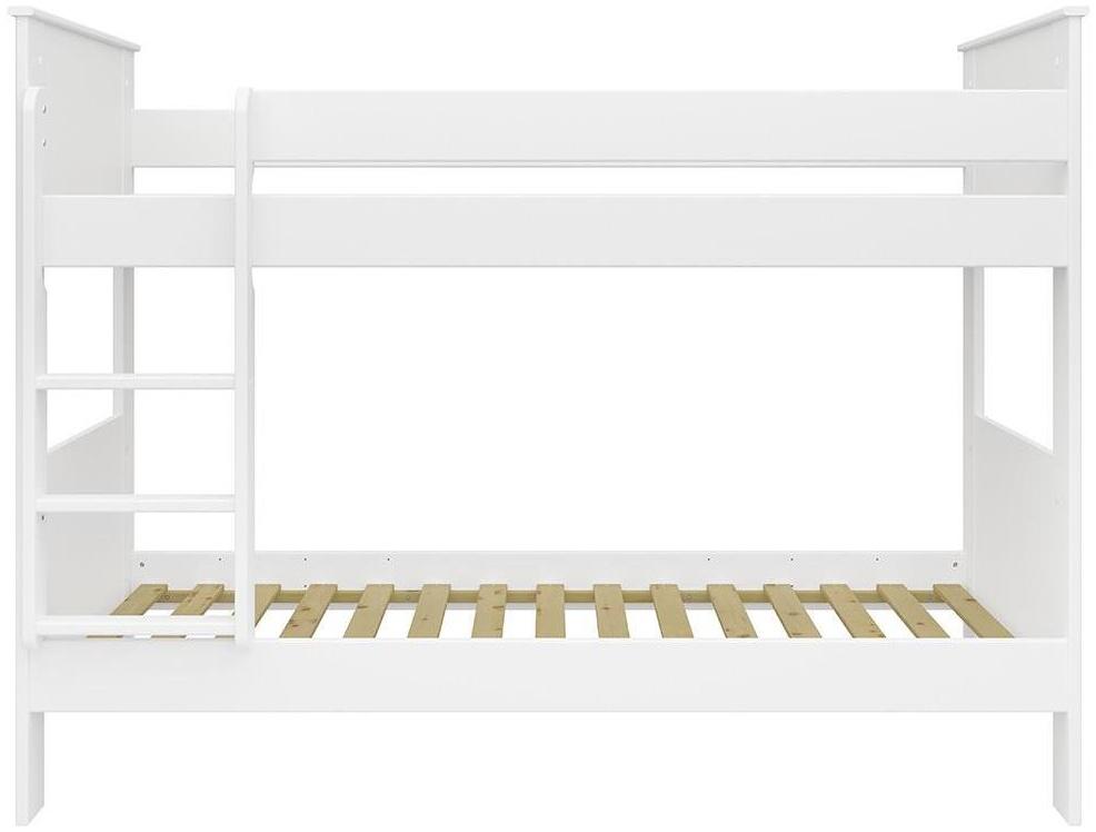STEENS 'ALBA' Etagenbett 90 x 200 cm, Weiß, inkl. Lattenroste Bild 1