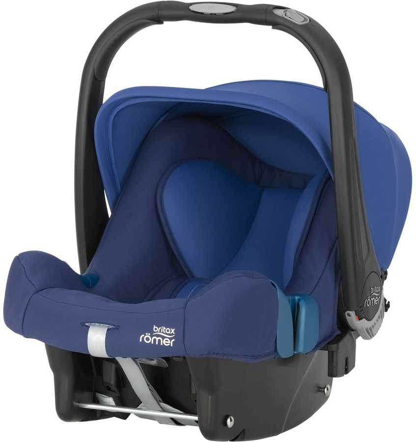 Britax Römer 'BABY-SAFE PLUS SHR II' Babyschale Moonlight Blue, Gruppe 0+ Bild 1