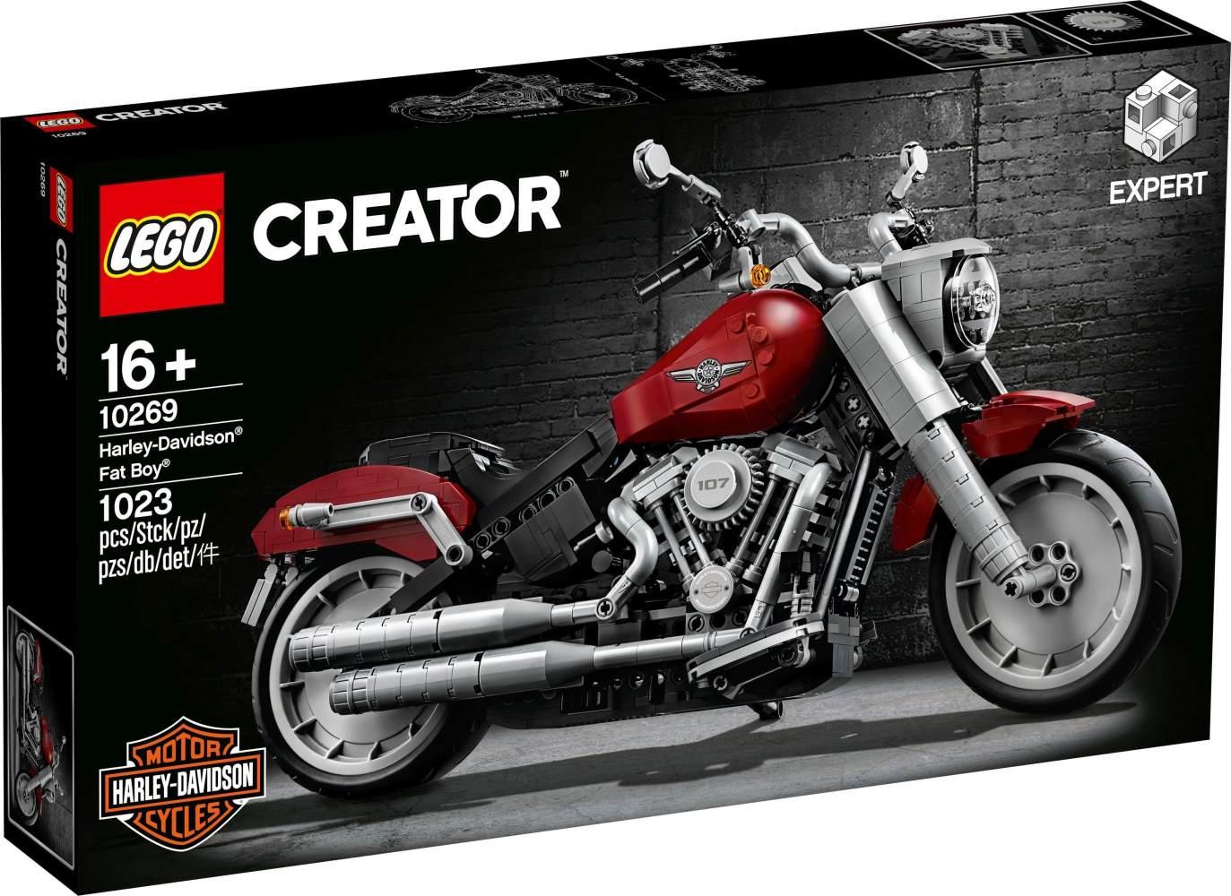 LEGO Creator Expert 10269 'Harley-Davidson® Fat Boy®', 1023 Teile, ab 16 Jahren Bild 1