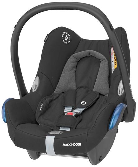 Maxi-Cosi 'Cabriofix' Babyschale 2021 Essential Black von 0-13 kg (Gruppe 0+) Bild 1