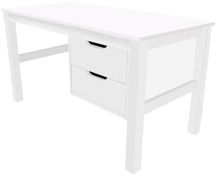 Hoppekids 'Maja' Schreibtisch Weiß mit Schubkästen Bild 1