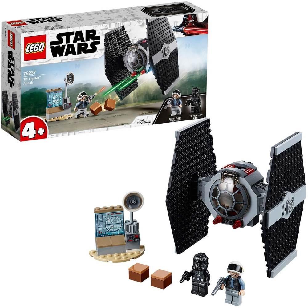 LEGO Star Wars 75237 'TIE Fighter Attack', 77 Teile, ab 4 Jahren, auch für kleine Bauanfänger geeignet Bild 1