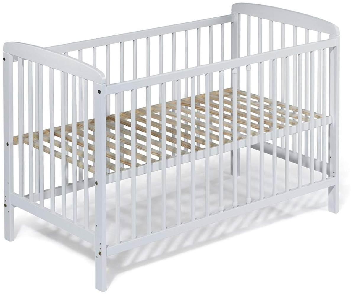 KOKO Kombi-Kinderbett 'JULIA' 60x120 cm weiß Bild 1