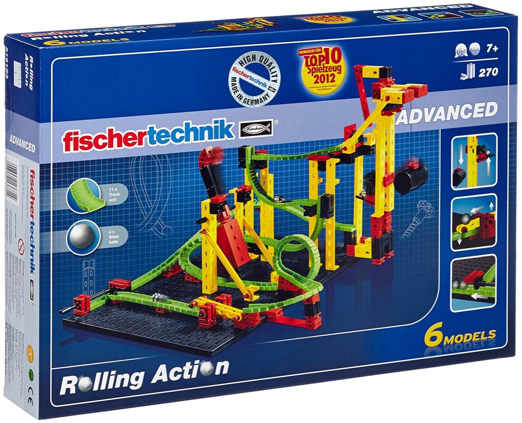 fischertechnik ADVANCED Rolling Action, Konstruktionsbaukasten - 516183 Bild 1