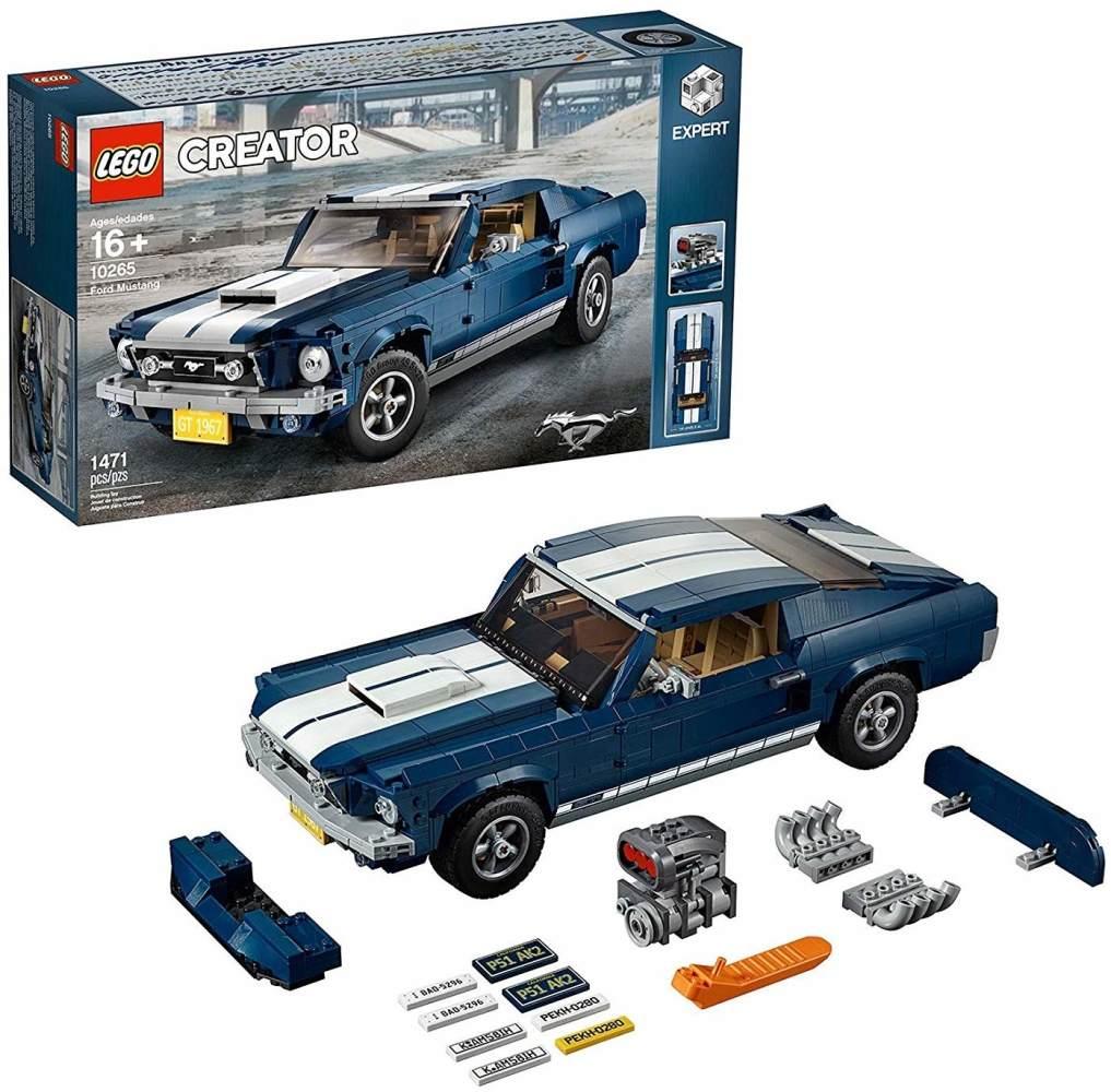 LEGO Creator Expert 10265 'Ford Mustang', 1471 Teile, ab 16 Jahren, originalgetreue Nachbildung Bild 1