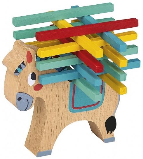 ausgleichsspiel Holzpferd Bild 1