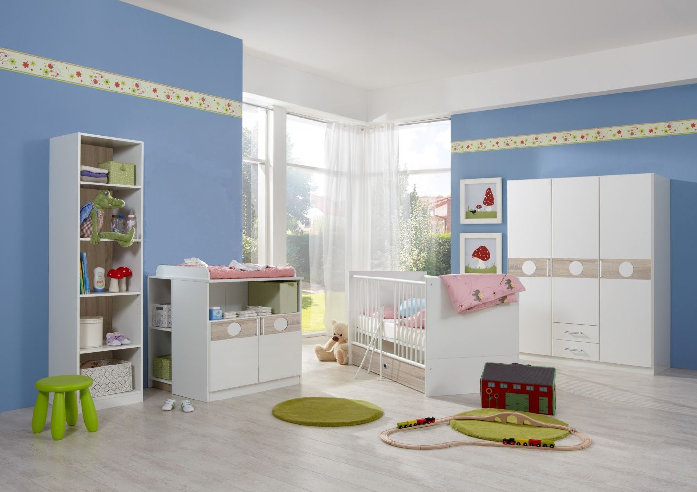 Babyzimmer-Set KIMBA 4tlg Komplett-Set Bild 1