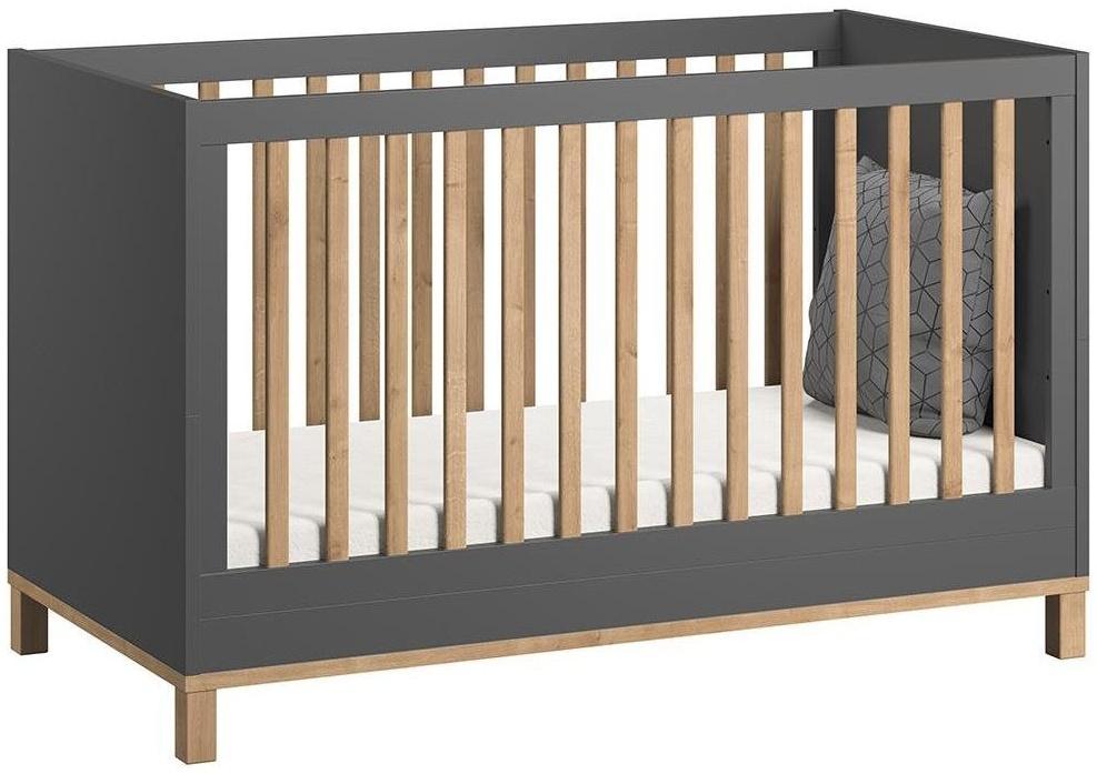 Vox 'Altitude' Kombi-Kinderbett grau / natur Bild 1